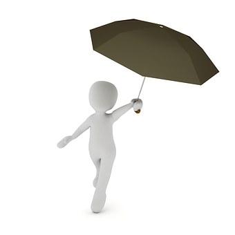 Schirm bedrucken Logo